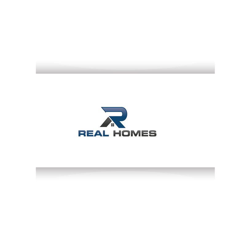 Logo Design by roc - Entry No. 65 in the Logo Design Contest Captivating Logo Design for Real Homes.