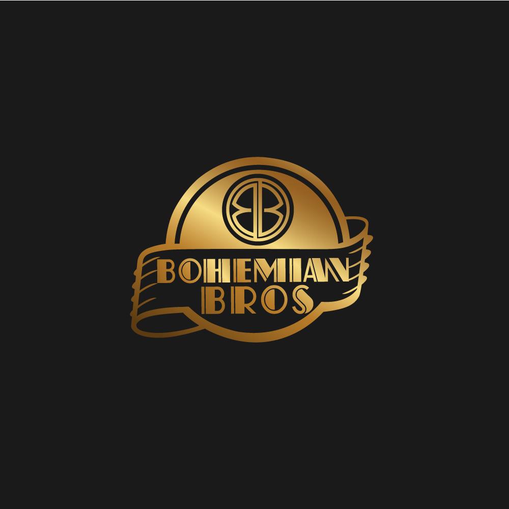 Logo Design by rockin - Entry No. 46 in the Logo Design Contest Creative Logo Design for Bohemian Bros.