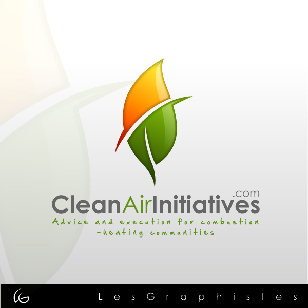 Logo Design by Les-Graphistes - Entry No. 1 in the Logo Design Contest www.CleanAirInitiatives.com.