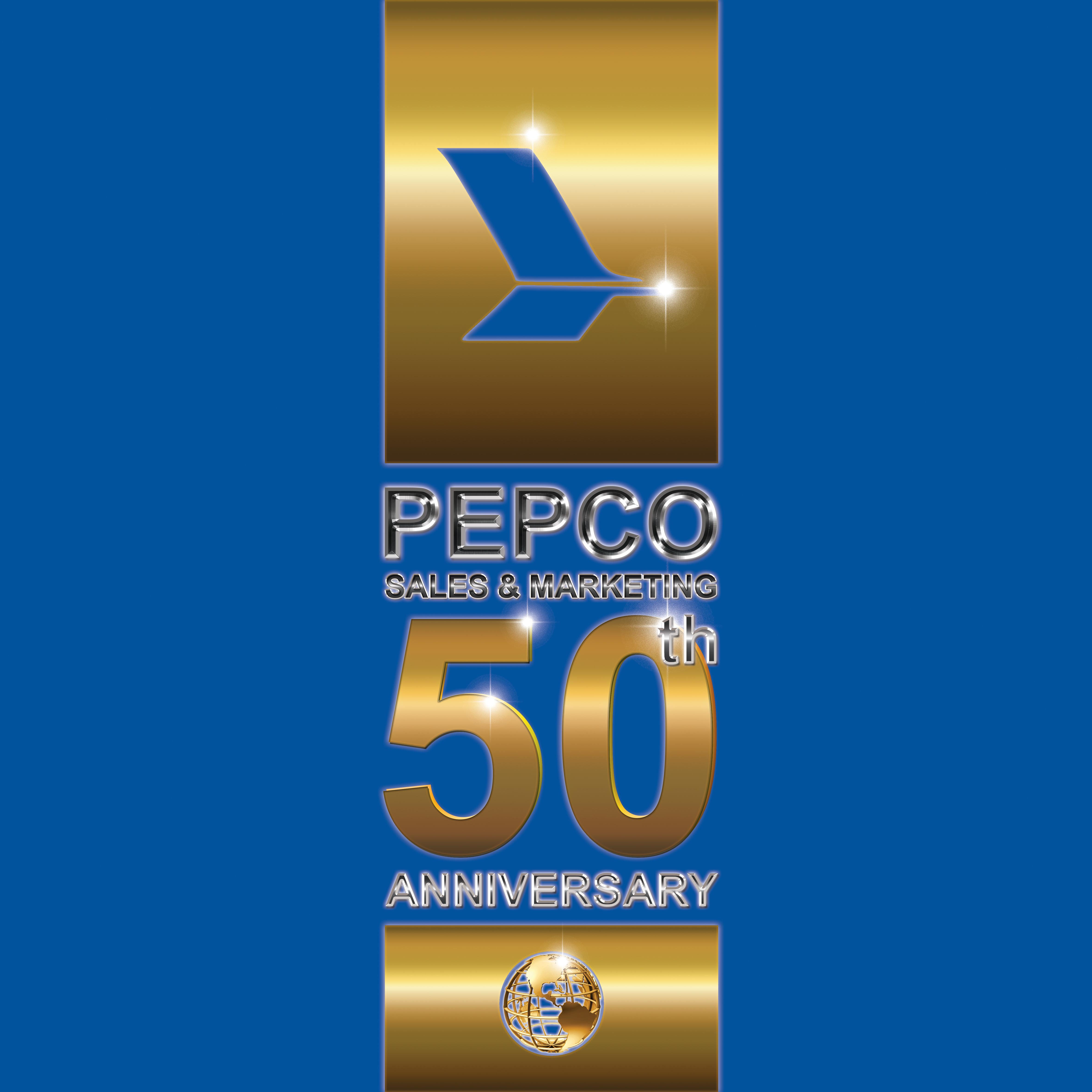 Logo Design by Kiavash Varnoos - Entry No. 56 in the Logo Design Contest 50th Anniversary Logo Design for Pepco Sales  & Marketing.