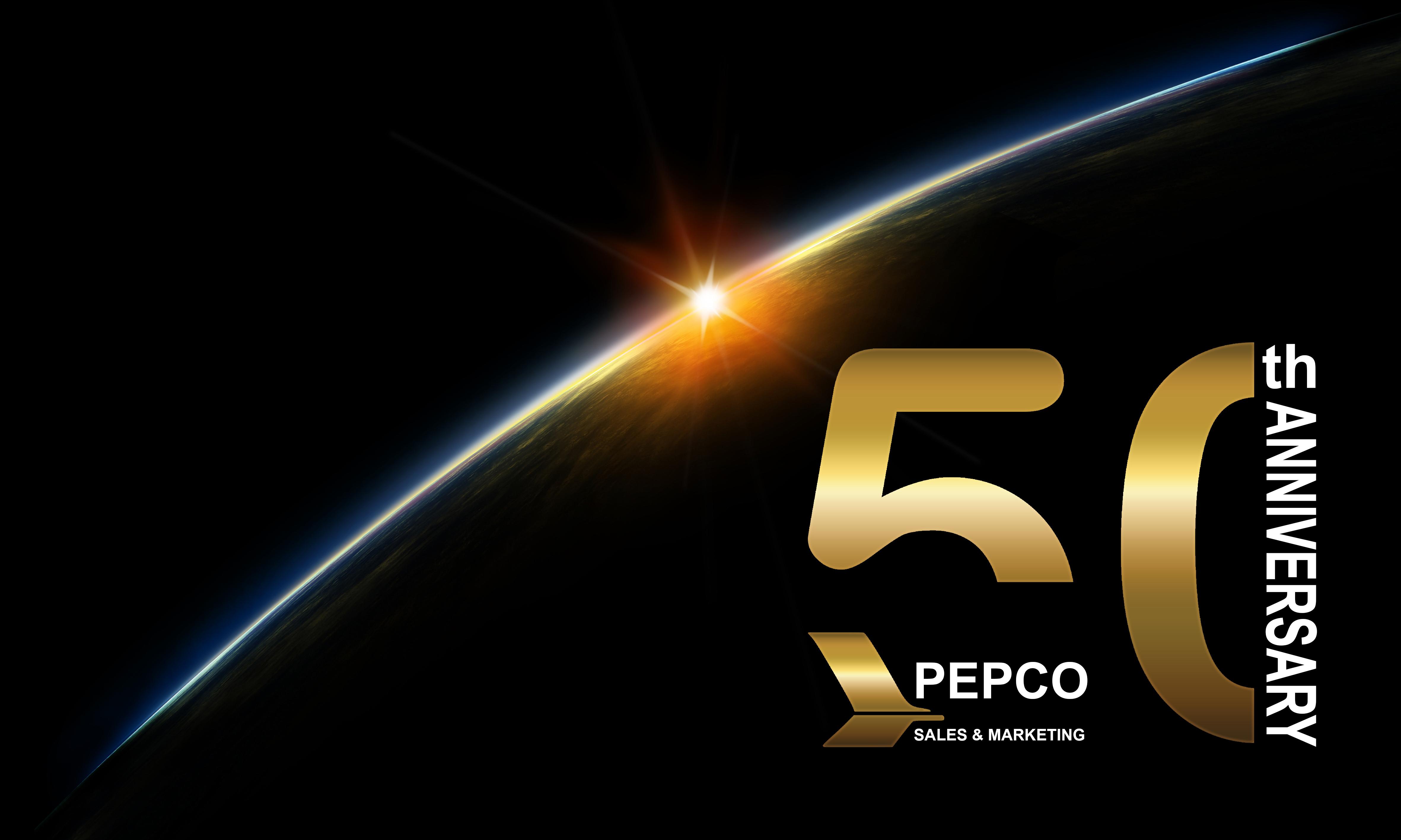 Logo Design by Kiavash Varnoos - Entry No. 74 in the Logo Design Contest 50th Anniversary Logo Design for Pepco Sales  & Marketing.