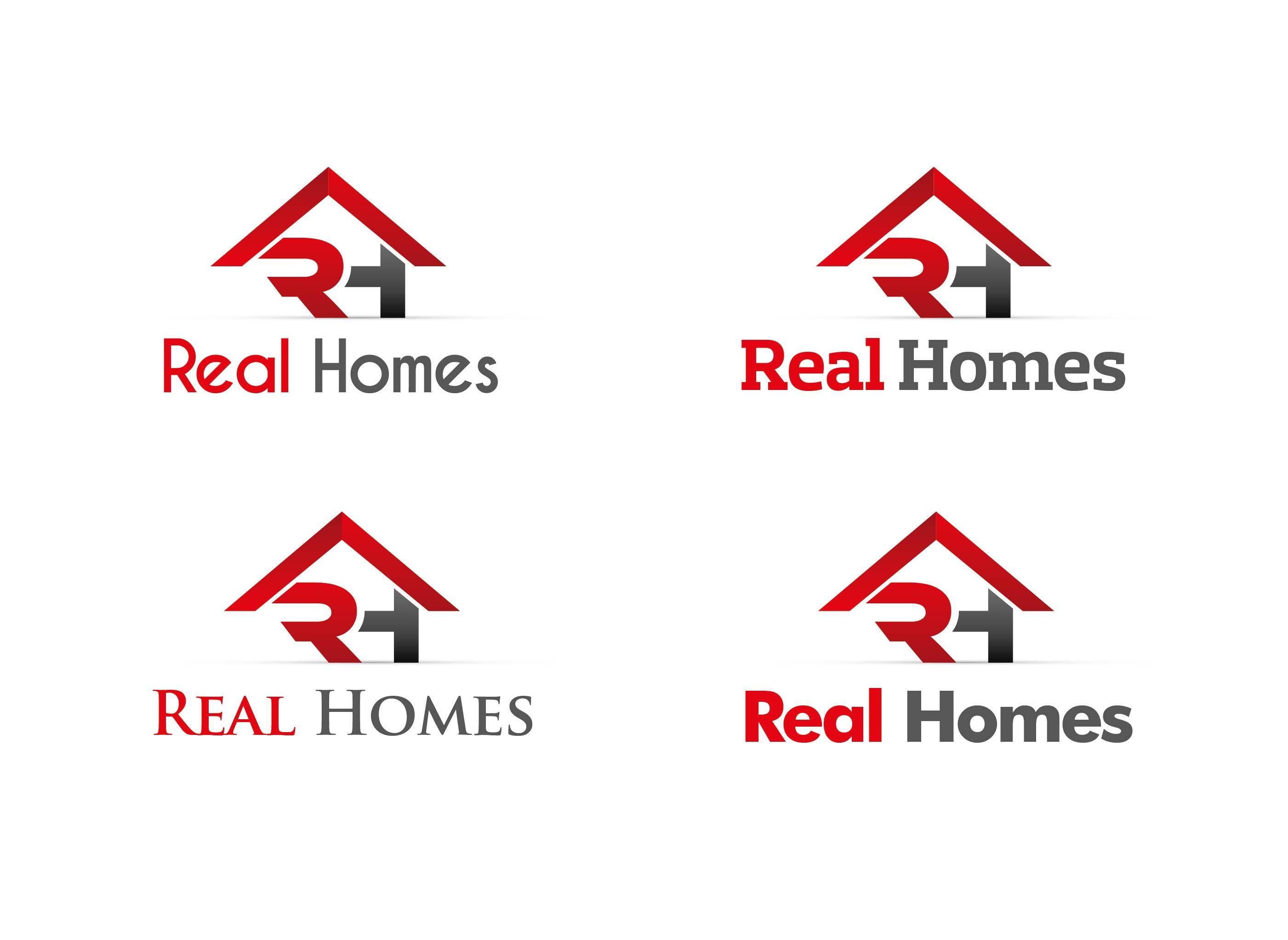 Logo Design by Adnan Taqi - Entry No. 84 in the Logo Design Contest Captivating Logo Design for Real Homes.