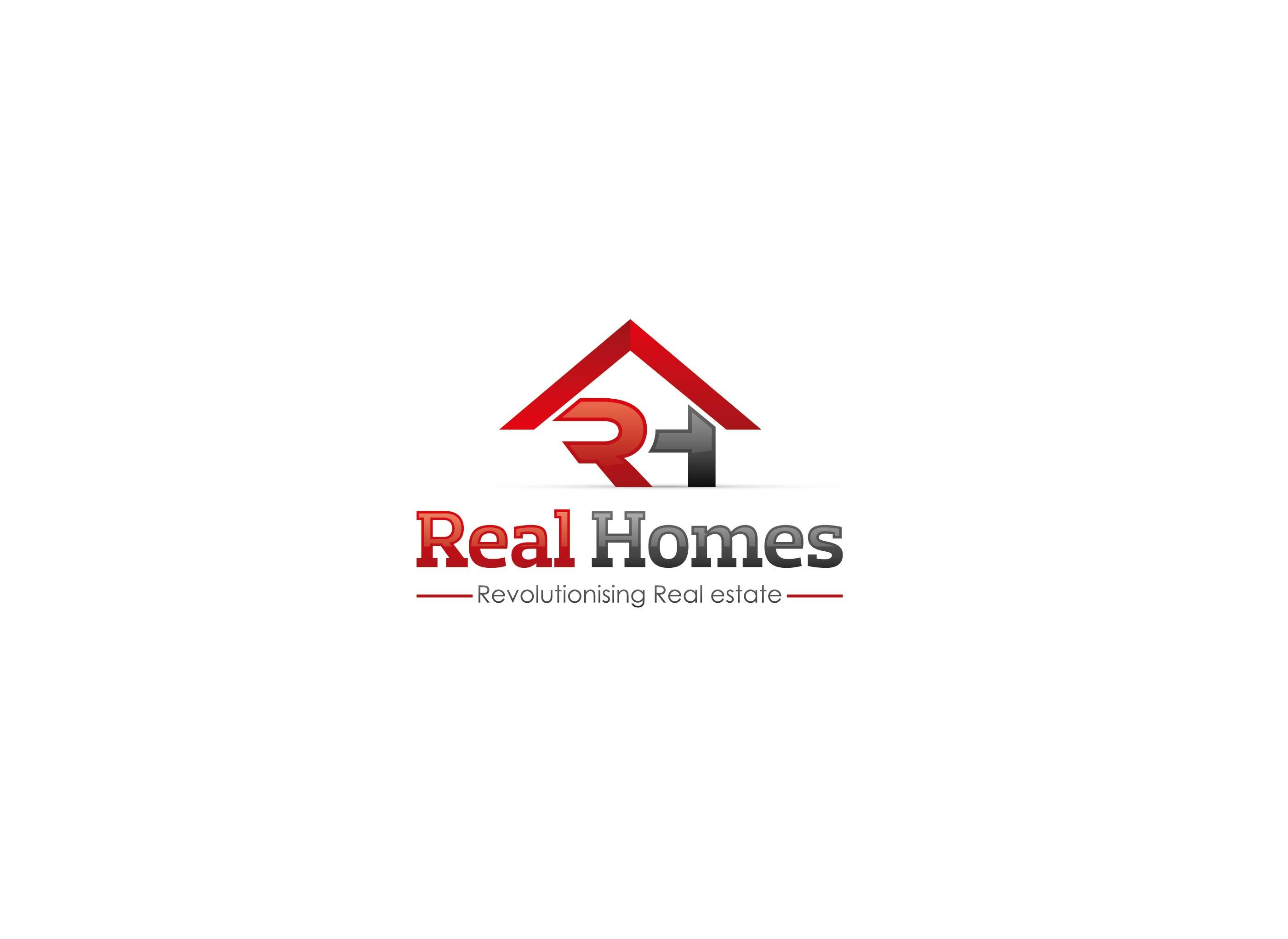 Logo Design by Adnan Taqi - Entry No. 85 in the Logo Design Contest Captivating Logo Design for Real Homes.