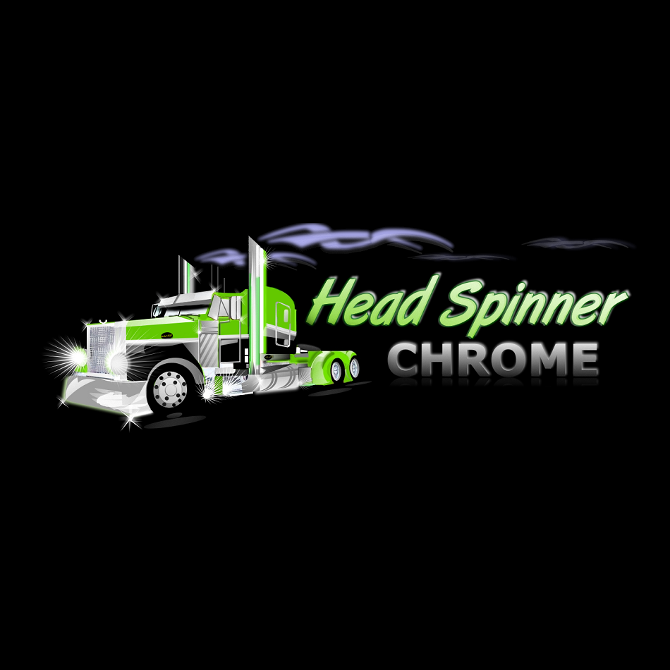 Logo Design by luwabu - Entry No. 44 in the Logo Design Contest Head Spinner Chrome.