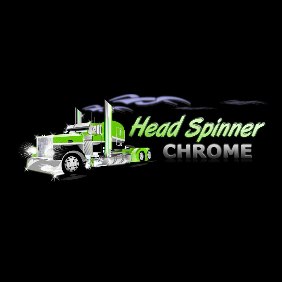 Logo Design by luwabu - Entry No. 44 in the Logo Design Contest Head Spinner Chrome.