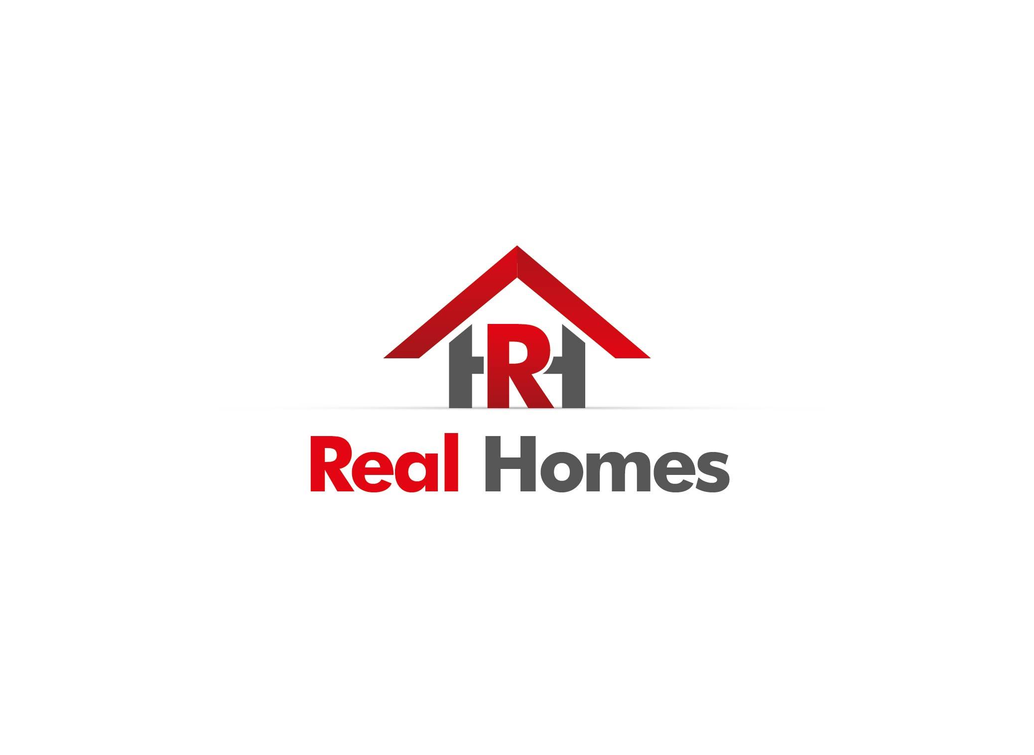 Logo Design by Adnan Taqi - Entry No. 88 in the Logo Design Contest Captivating Logo Design for Real Homes.
