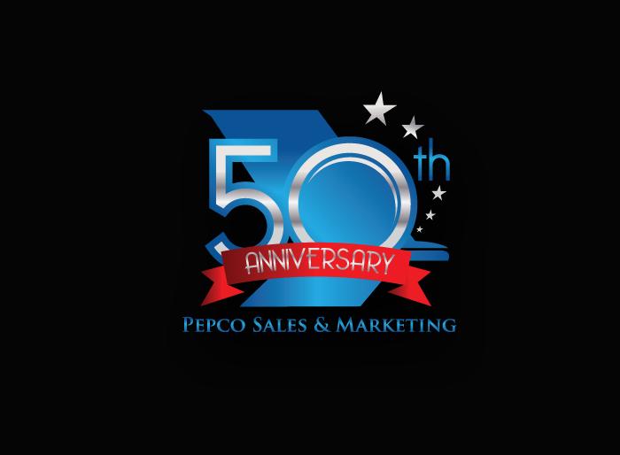 Logo Design by Jan Chua - Entry No. 84 in the Logo Design Contest 50th Anniversary Logo Design for Pepco Sales  & Marketing.