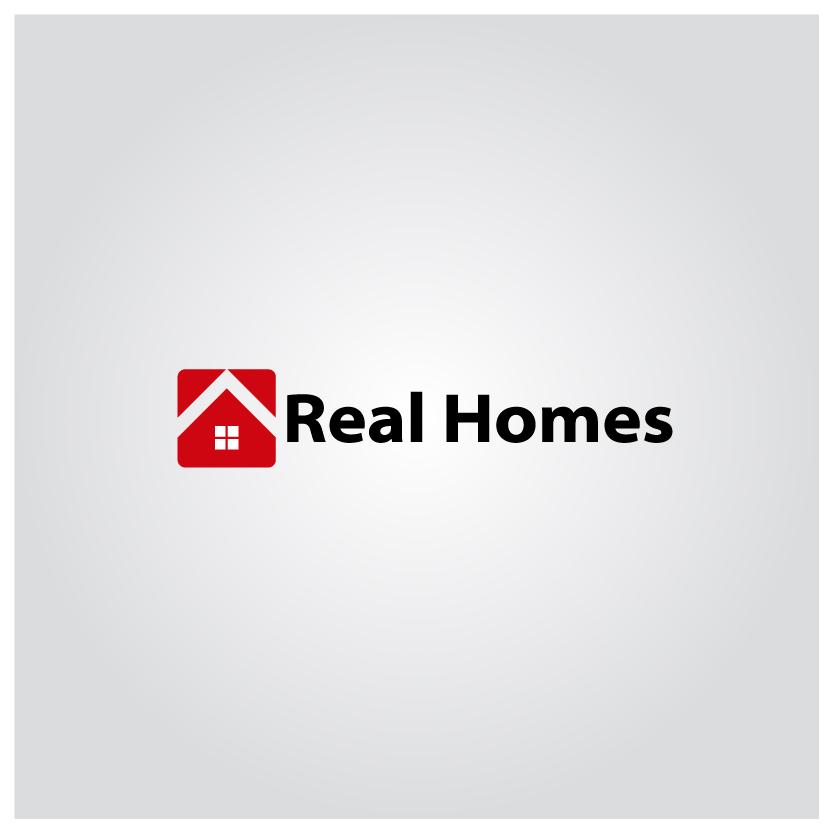 Logo Design by chAnDOS - Entry No. 104 in the Logo Design Contest Captivating Logo Design for Real Homes.