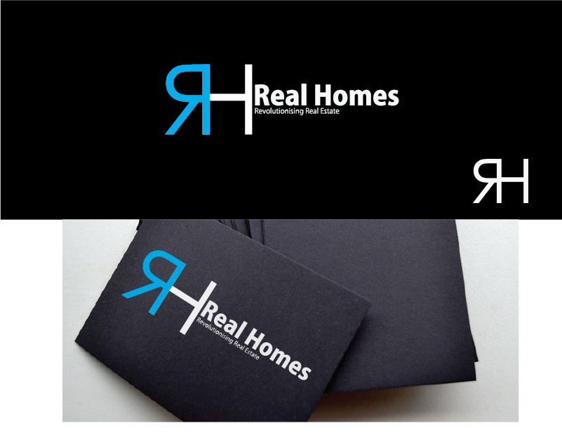 Logo Design by Cedrick Englis - Entry No. 105 in the Logo Design Contest Captivating Logo Design for Real Homes.