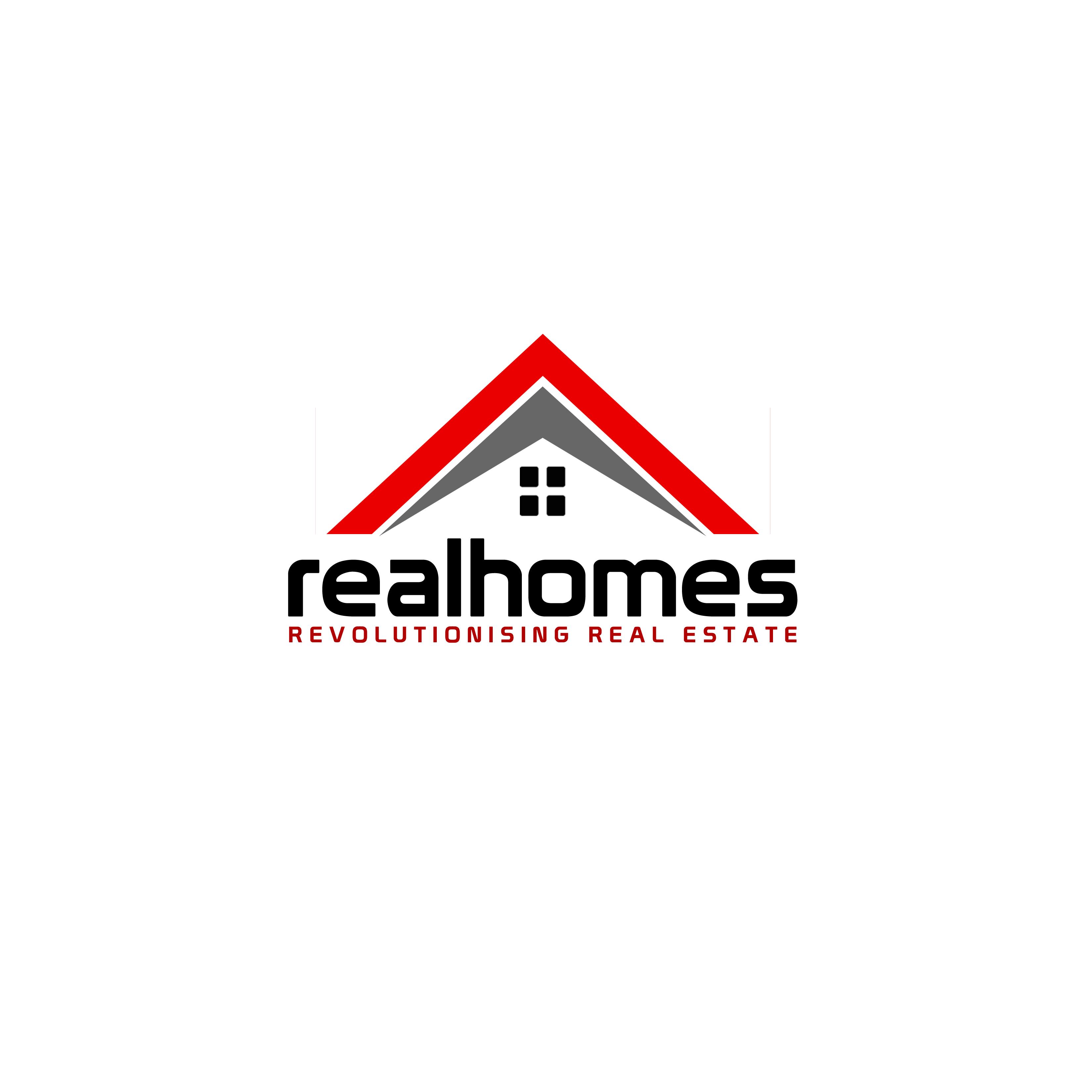 Logo Design by Allan Esclamado - Entry No. 114 in the Logo Design Contest Captivating Logo Design for Real Homes.