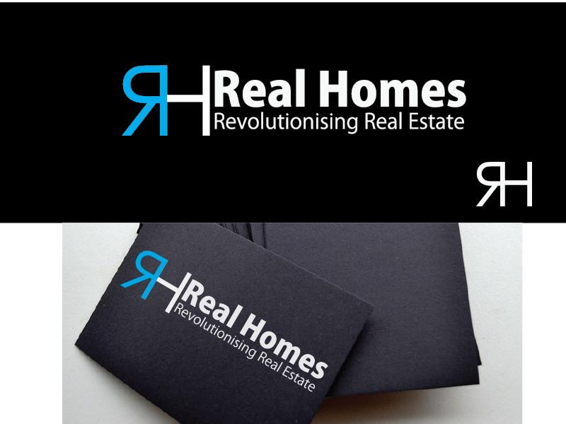 Logo Design by Cedrick Englis - Entry No. 121 in the Logo Design Contest Captivating Logo Design for Real Homes.