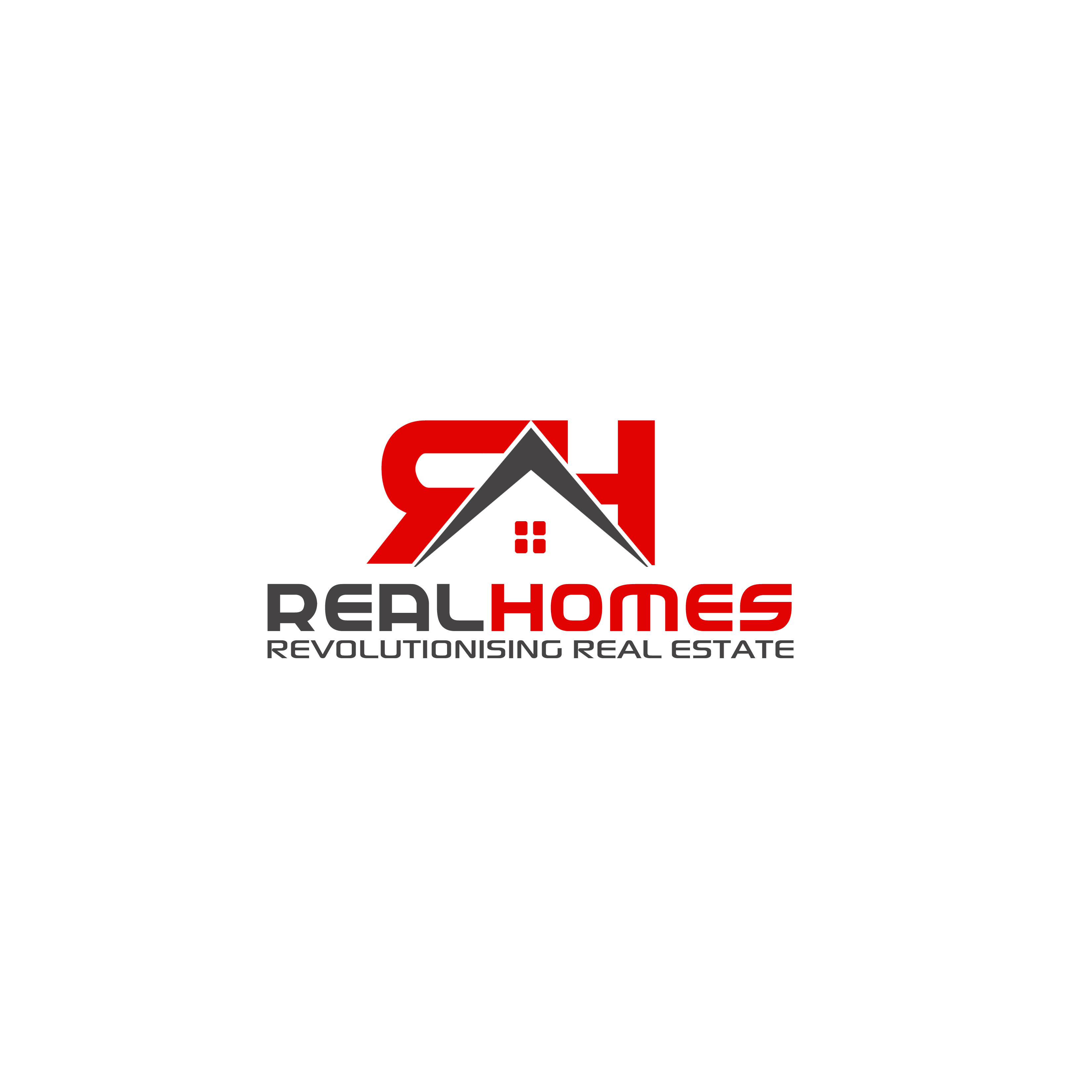Logo Design by Allan Esclamado - Entry No. 132 in the Logo Design Contest Captivating Logo Design for Real Homes.