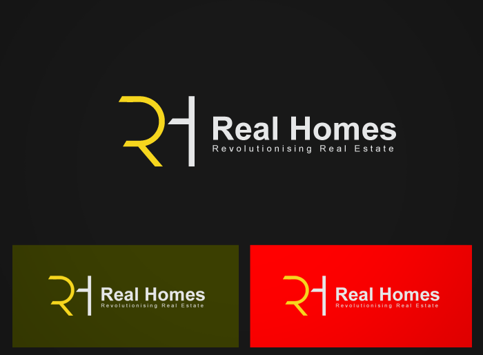 Logo Design by Jan Chua - Entry No. 135 in the Logo Design Contest Captivating Logo Design for Real Homes.