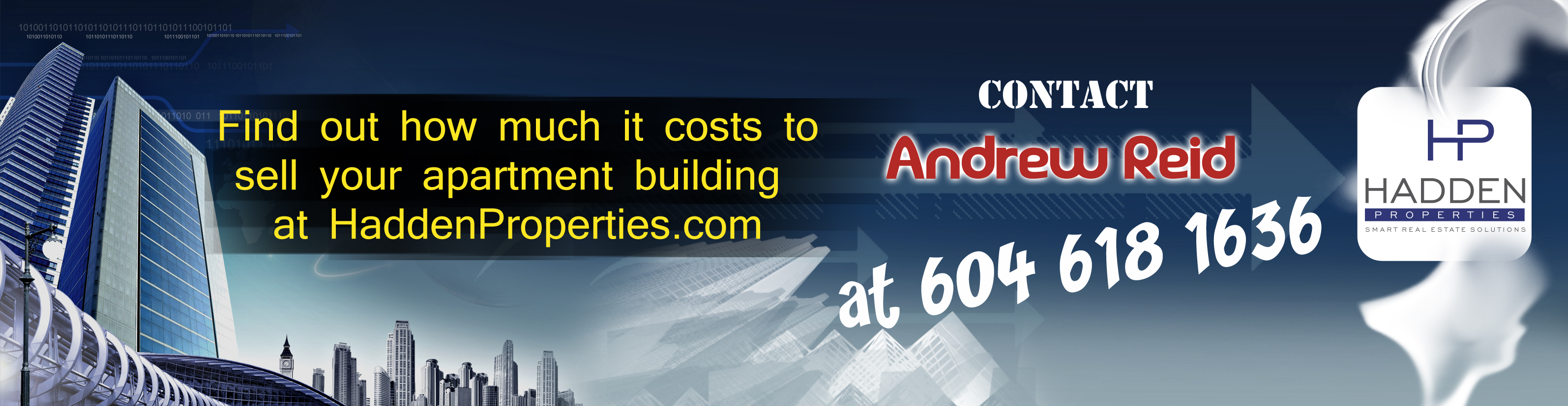 Banner Ad Design by Private User - Entry No. 28 in the Banner Ad Design Contest Creative Banner Ad Design for Hadden Properties Ltd..