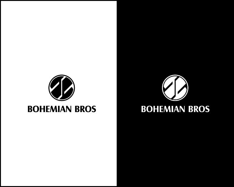 Logo Design by Armada Jamaluddin - Entry No. 92 in the Logo Design Contest Creative Logo Design for Bohemian Bros.
