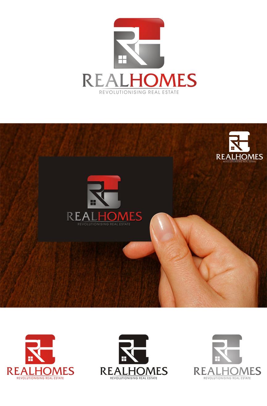 Logo Design by RasYa Muhammad Athaya - Entry No. 178 in the Logo Design Contest Captivating Logo Design for Real Homes.