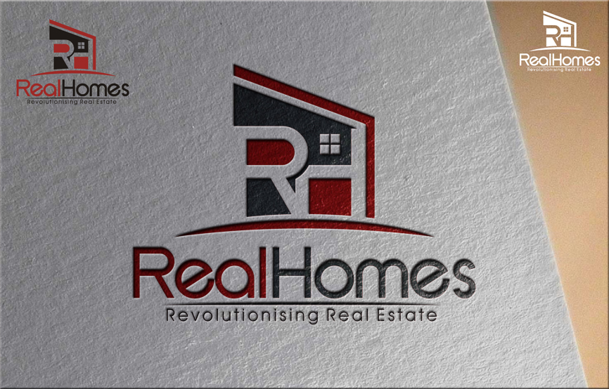 Logo Design by RasYa Muhammad Athaya - Entry No. 224 in the Logo Design Contest Captivating Logo Design for Real Homes.