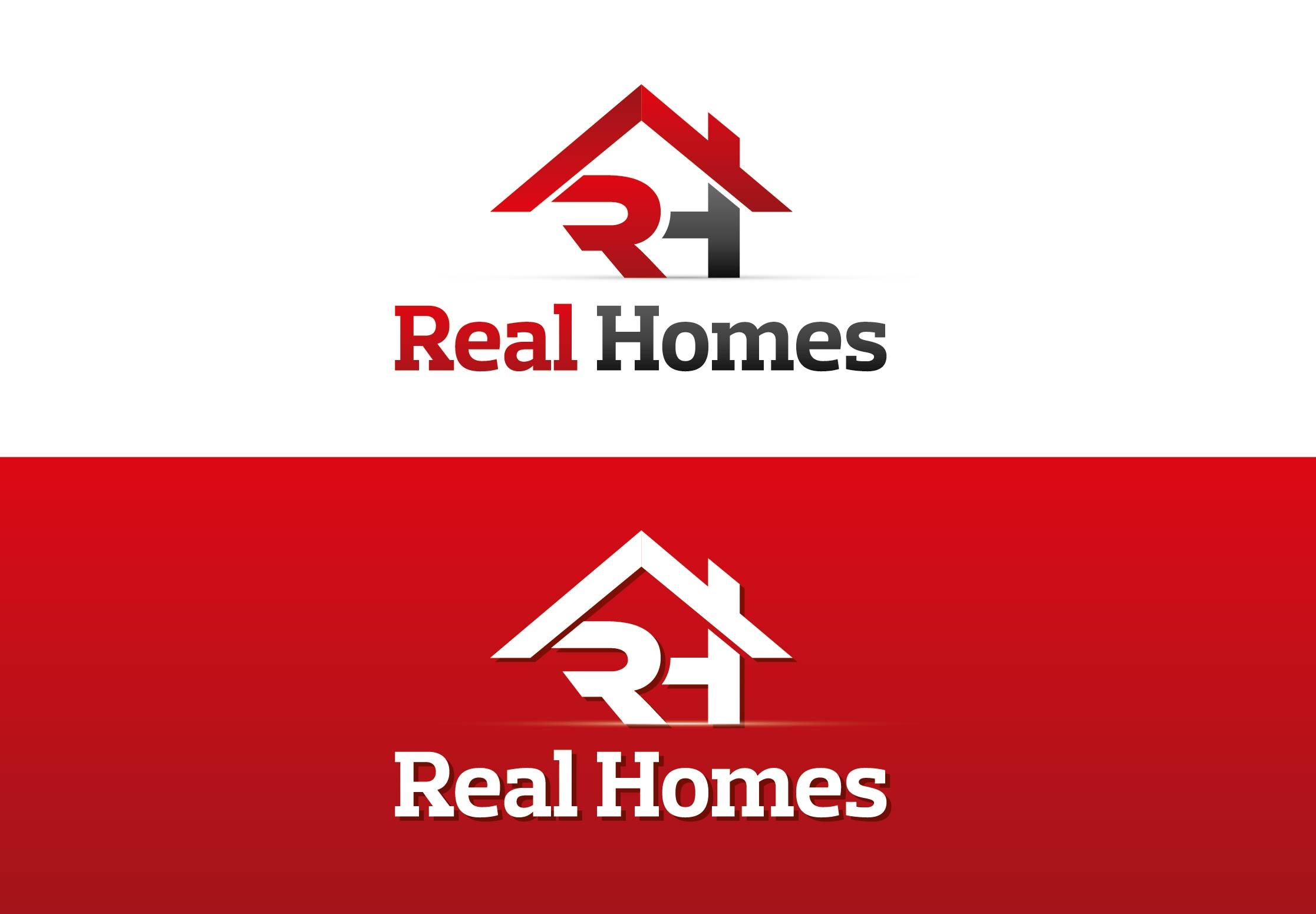Logo Design by Adnan Taqi - Entry No. 230 in the Logo Design Contest Captivating Logo Design for Real Homes.