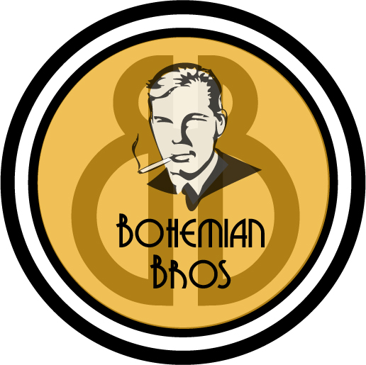 Logo Design by Alexandra Douglas - Entry No. 108 in the Logo Design Contest Creative Logo Design for Bohemian Bros.