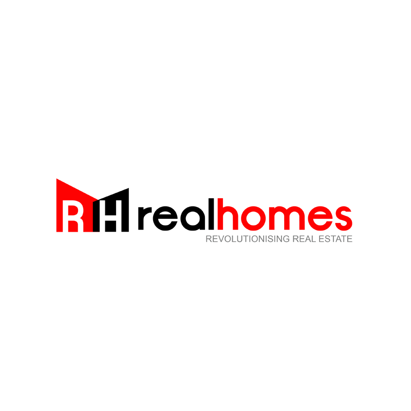 Logo Design by Russ - Entry No. 240 in the Logo Design Contest Captivating Logo Design for Real Homes.