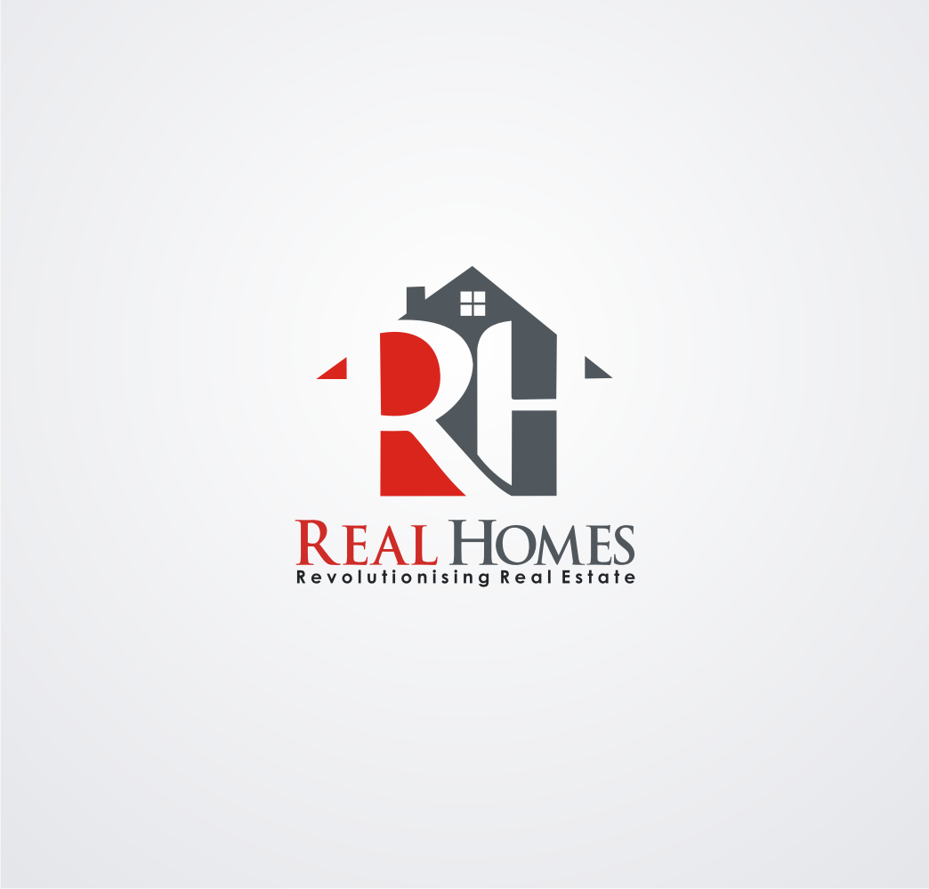Logo Design by SonyArt - Entry No. 266 in the Logo Design Contest Captivating Logo Design for Real Homes.