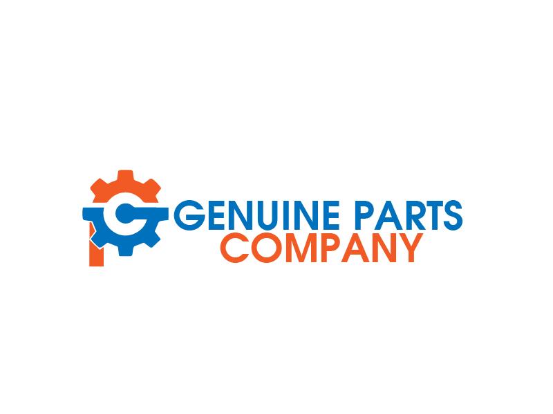 Logo Design by Private User - Entry No. 5 in the Logo Design Contest Captivating Logo Design for Genuine Parts Company.