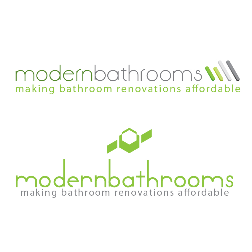 Business Card Design by aesthetic-art - Entry No. 45 in the Business Card Design Contest modernbathrooms.ca image enhancement.