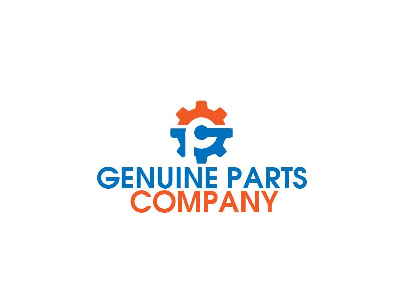 Logo Design by Private User - Entry No. 19 in the Logo Design Contest Captivating Logo Design for Genuine Parts Company.