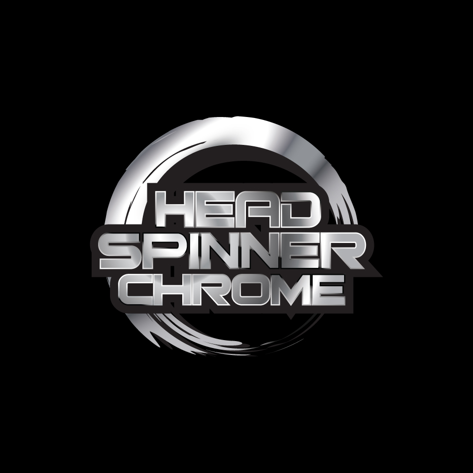 Logo Design by biggiebor - Entry No. 52 in the Logo Design Contest Head Spinner Chrome.