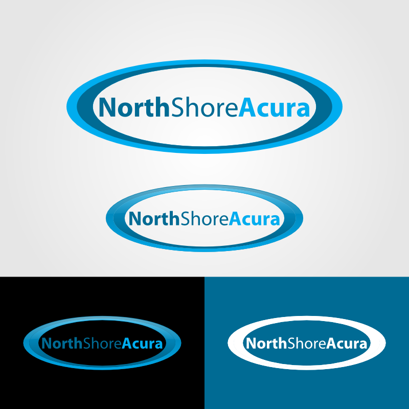 Logo Design by Andrean Susanto - Entry No. 1 in the Logo Design Contest North Shore Acura/Formerly Dennison Chevrolet.