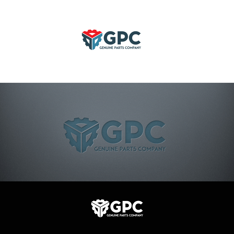Logo Design by Olchytay - Entry No. 68 in the Logo Design Contest Captivating Logo Design for Genuine Parts Company.