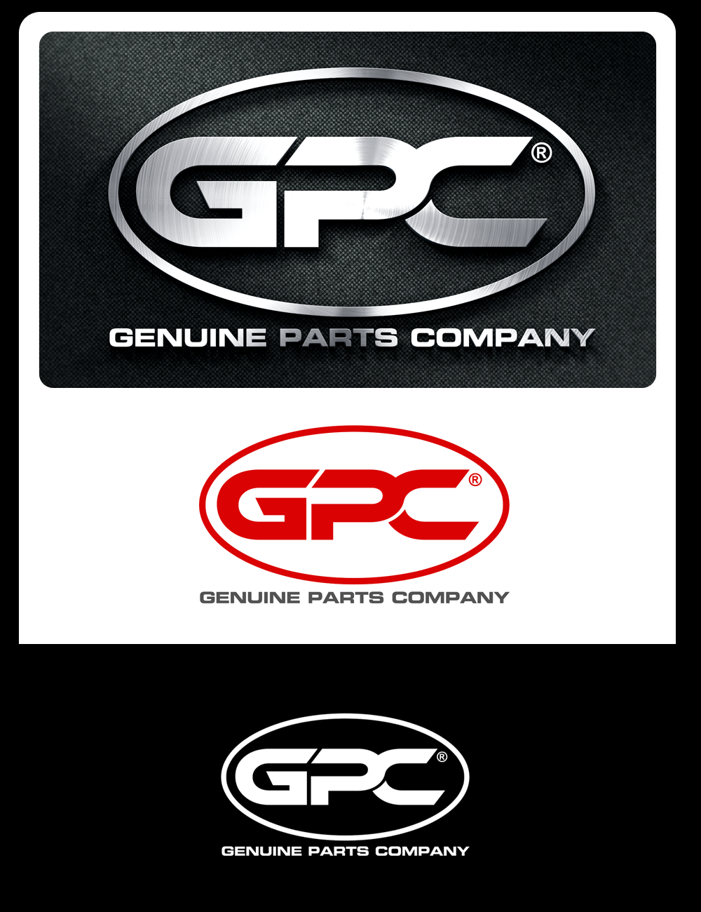 Logo Design by Robert Turla - Entry No. 69 in the Logo Design Contest Captivating Logo Design for Genuine Parts Company.