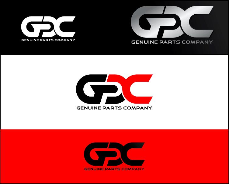 Logo Design by Armada Jamaluddin - Entry No. 73 in the Logo Design Contest Captivating Logo Design for Genuine Parts Company.