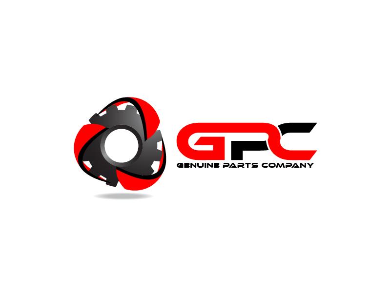 Logo Design by Private User - Entry No. 87 in the Logo Design Contest Captivating Logo Design for Genuine Parts Company.