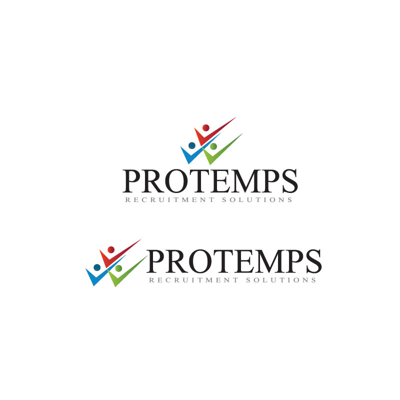 Logo Design by Private User - Entry No. 19 in the Logo Design Contest Logo Design for ProTemps Recruitment Solutions.