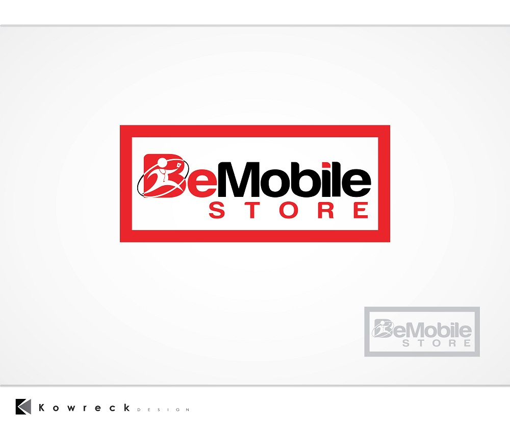 Logo Design by kowreck - Entry No. 13 in the Logo Design Contest Captivating Logo Design for Be Mobile Store.