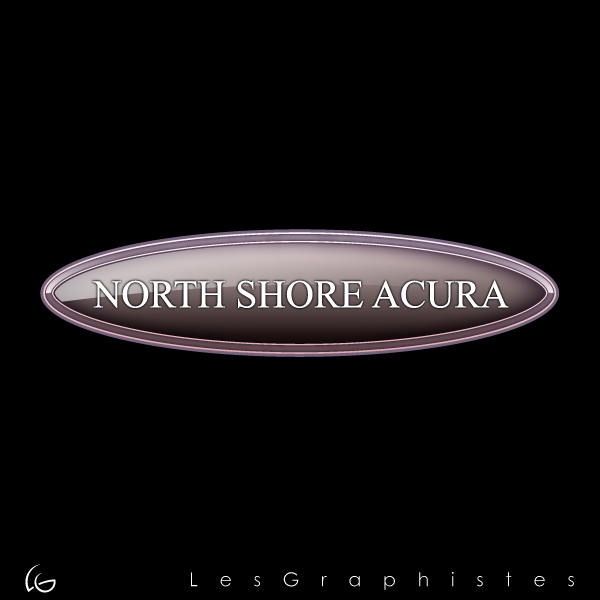 Logo Design by Les-Graphistes - Entry No. 3 in the Logo Design Contest North Shore Acura/Formerly Dennison Chevrolet.