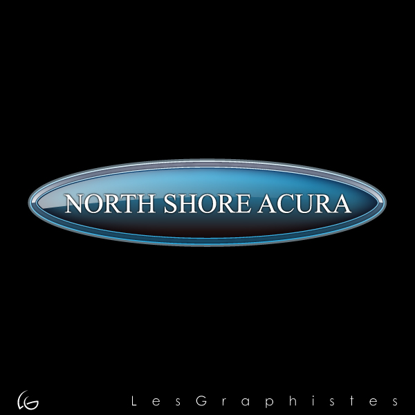 Logo Design by Les-Graphistes - Entry No. 4 in the Logo Design Contest North Shore Acura/Formerly Dennison Chevrolet.