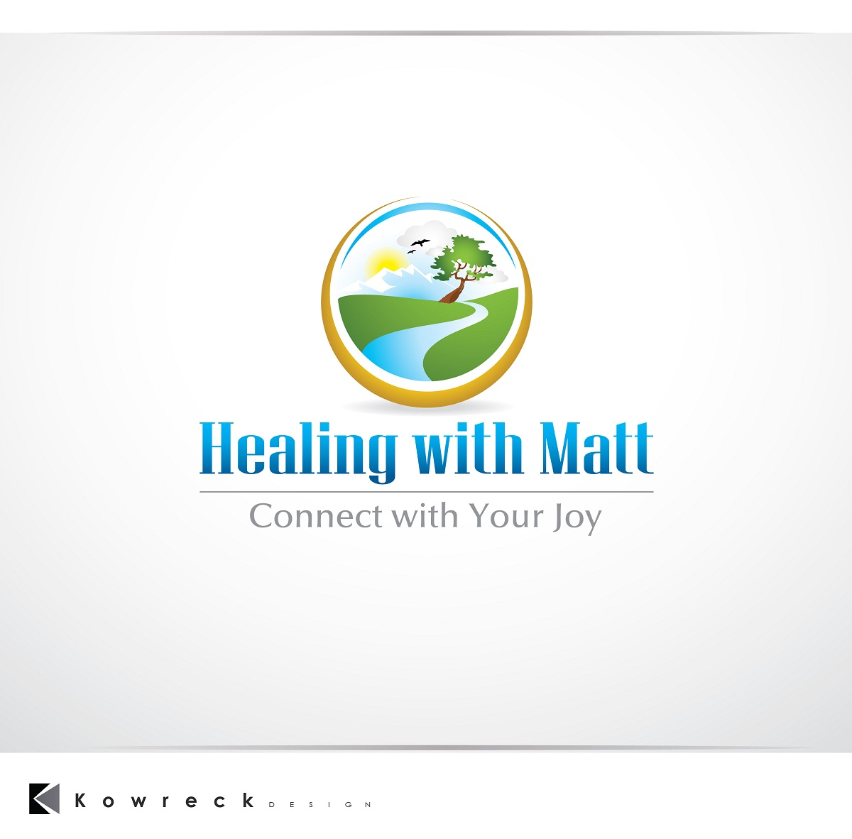 Logo Design by kowreck - Entry No. 36 in the Logo Design Contest Captivating Logo Design for Healing with Matt.