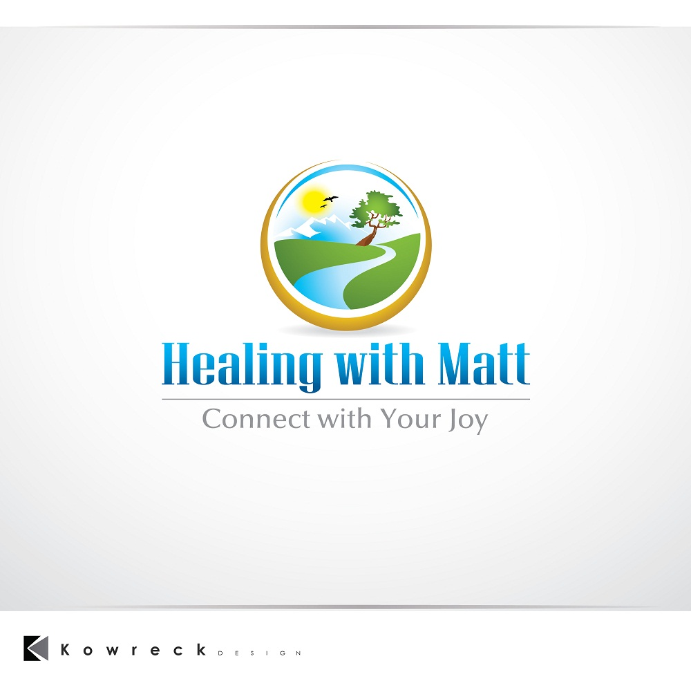 Logo Design by kowreck - Entry No. 37 in the Logo Design Contest Captivating Logo Design for Healing with Matt.