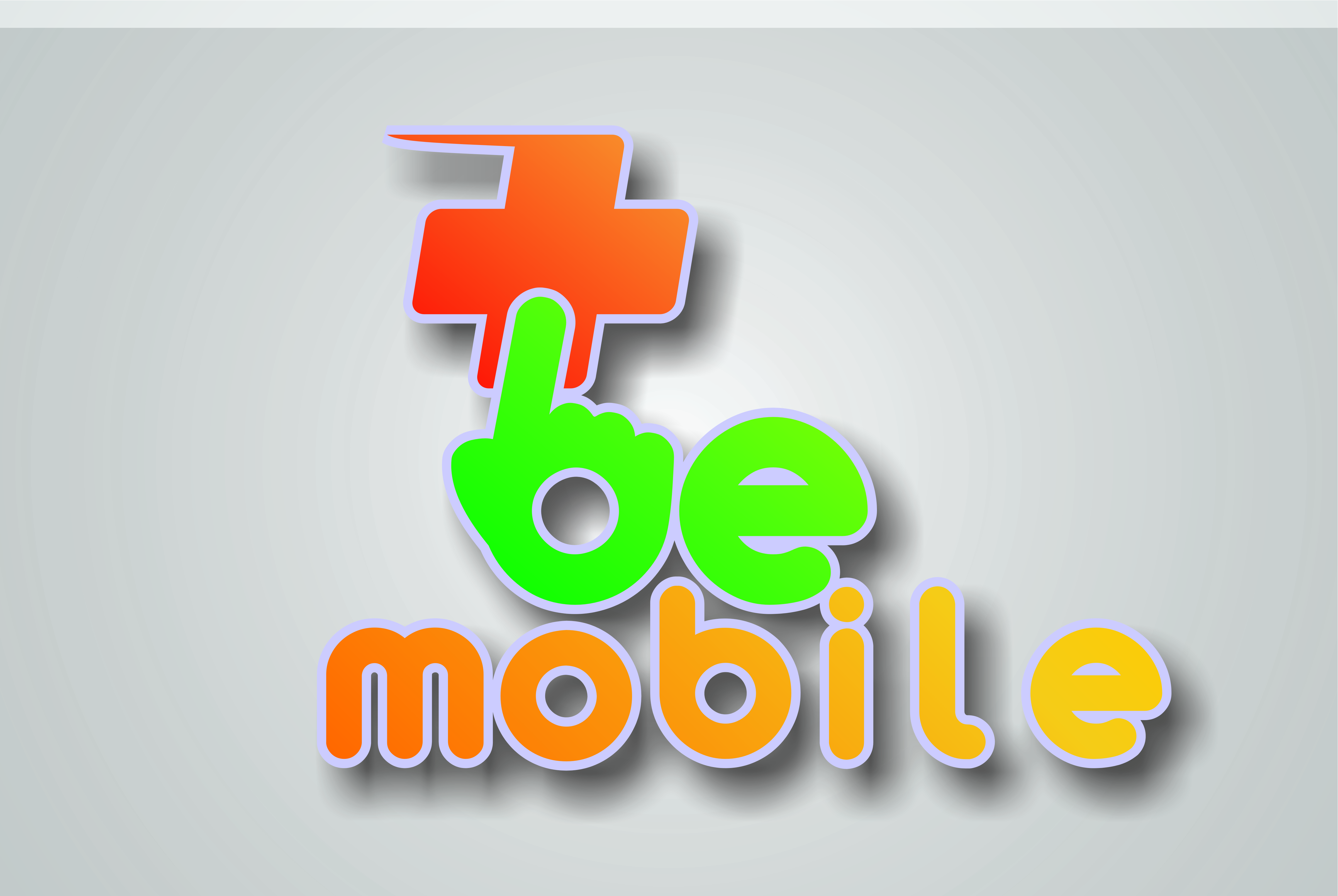 Logo Design by Wildan Nora Widagdo - Entry No. 26 in the Logo Design Contest Captivating Logo Design for Be Mobile Store.