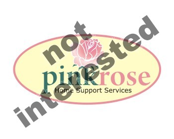 Logo Design by Argie Aljas - Entry No. 152 in the Logo Design Contest Pink Rose Home Support Services.
