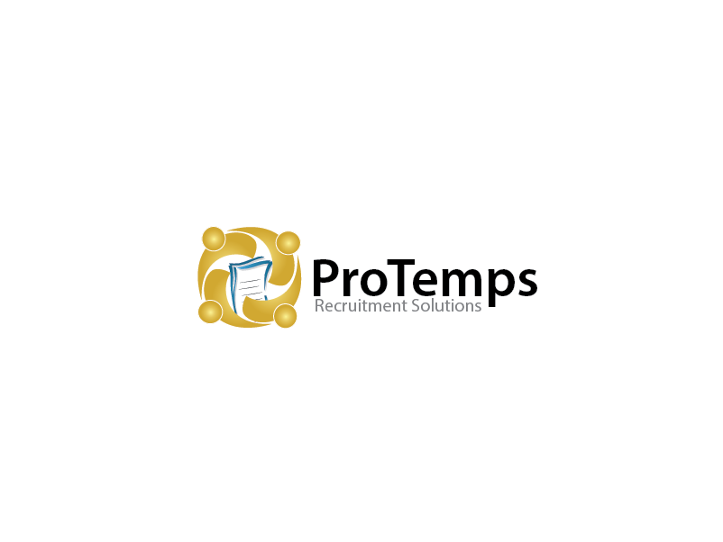 Logo Design by Private User - Entry No. 67 in the Logo Design Contest Logo Design for ProTemps Recruitment Solutions.