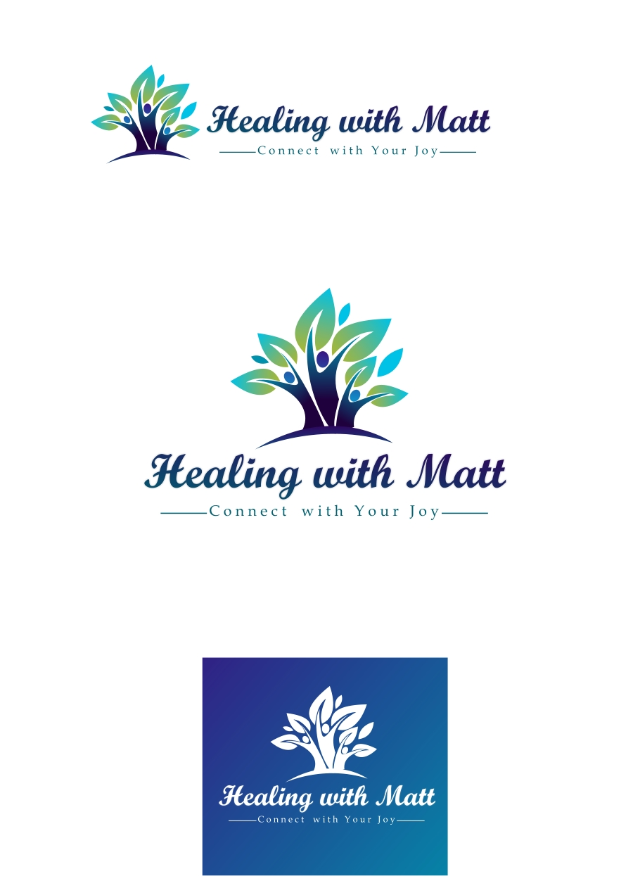 Logo Design by Private User - Entry No. 67 in the Logo Design Contest Captivating Logo Design for Healing with Matt.