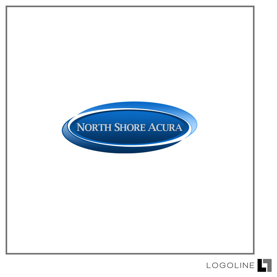 Logo Design by Private User - Entry No. 9 in the Logo Design Contest North Shore Acura/Formerly Dennison Chevrolet.