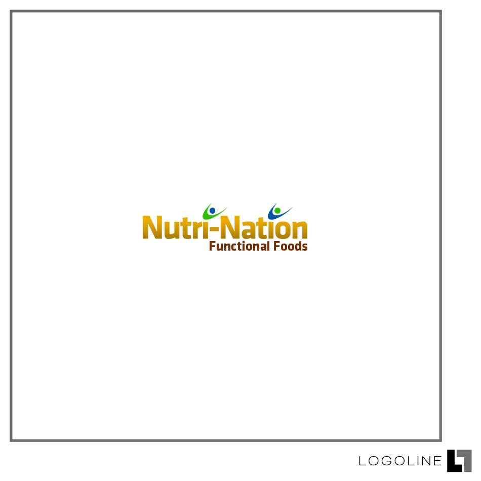 Logo Design by Private User - Entry No. 1 in the Logo Design Contest Nutri-Nation Functional Foods Logo.