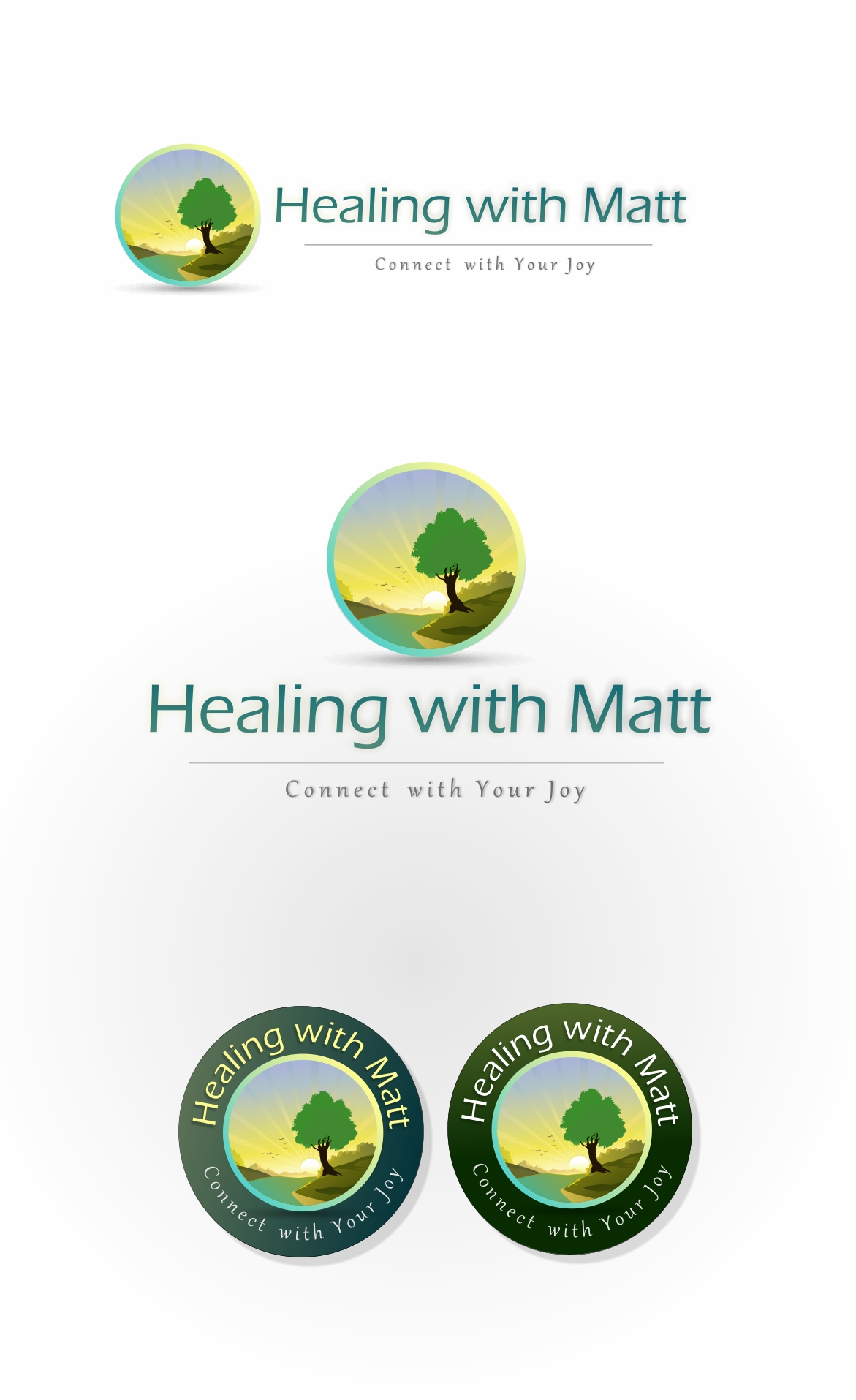 Logo Design by Private User - Entry No. 99 in the Logo Design Contest Captivating Logo Design for Healing with Matt.
