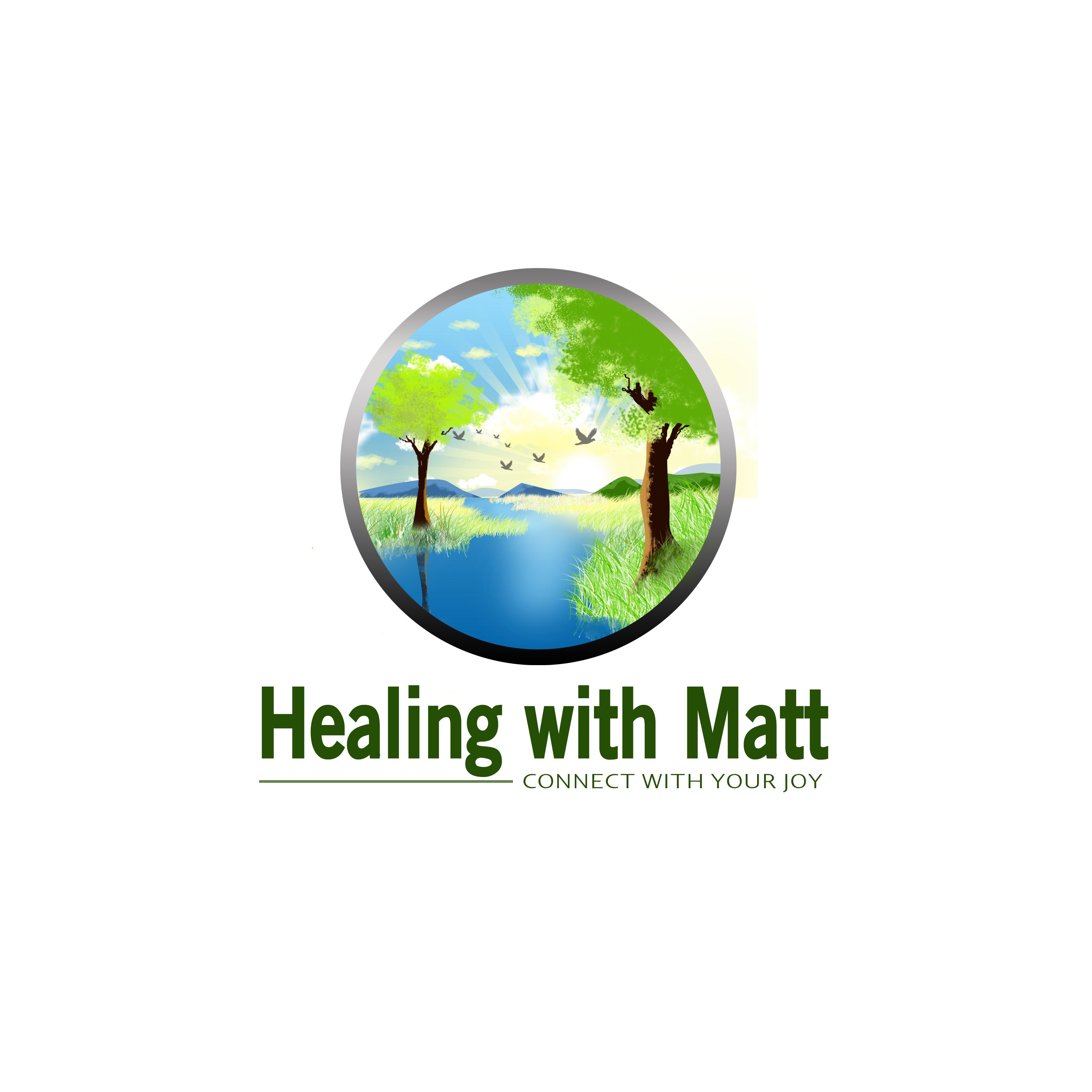 Logo Design by Allan Esclamado - Entry No. 102 in the Logo Design Contest Captivating Logo Design for Healing with Matt.