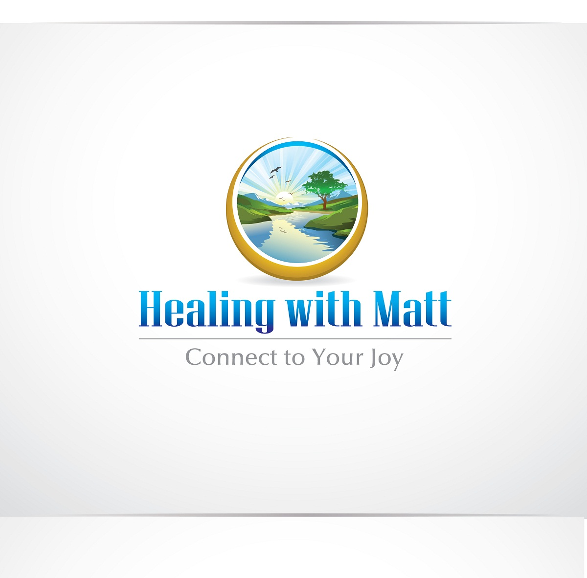 Logo Design by kowreck - Entry No. 106 in the Logo Design Contest Captivating Logo Design for Healing with Matt.