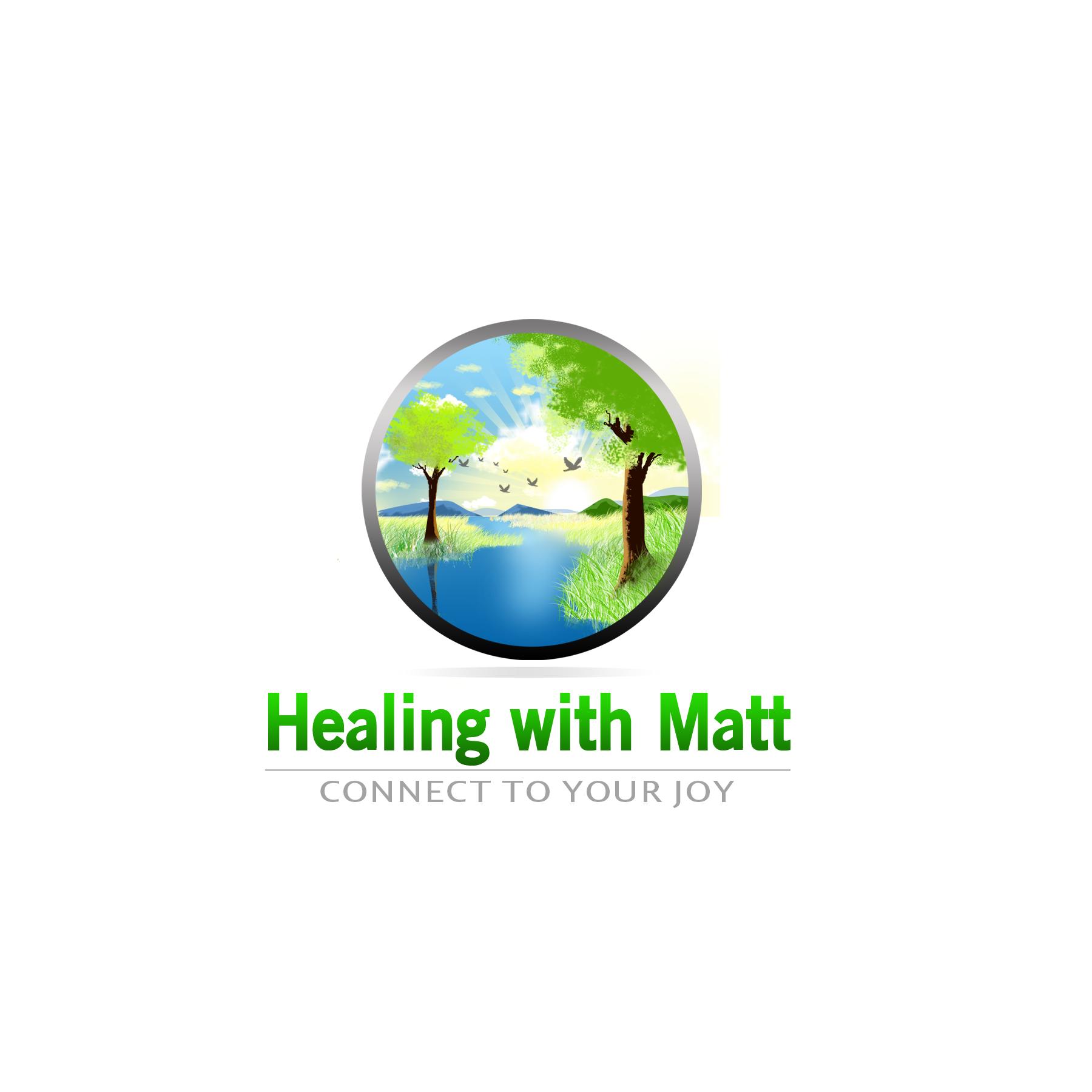 Logo Design by Allan Esclamado - Entry No. 113 in the Logo Design Contest Captivating Logo Design for Healing with Matt.